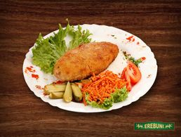 "Chicken cutlet ""Aramus"" (with carrots)"